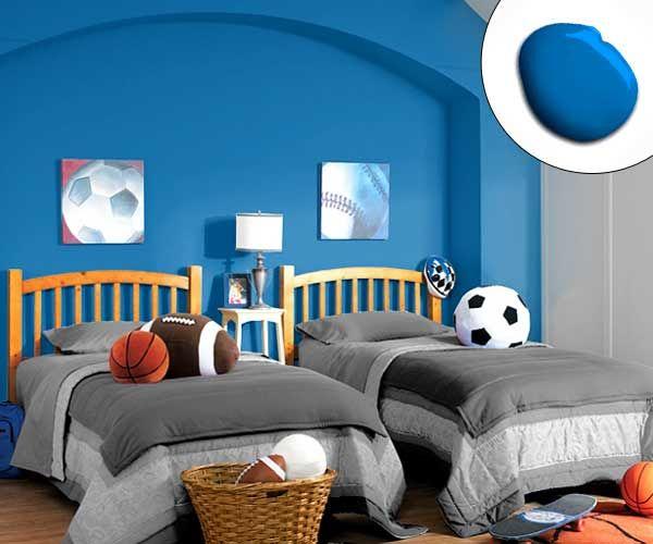 Blue paint for